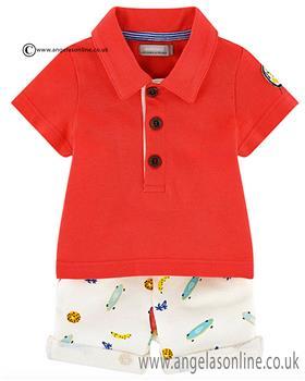 Catimini boys T shirt & shorts CJ37051