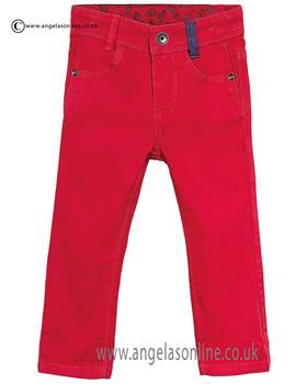 Catimini boys canvas jeans CJ22012 Red