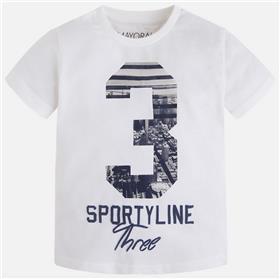 Mayoral boys t-shirt 3043-17 white