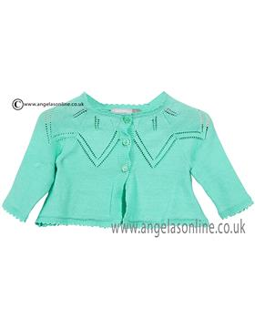 Catimini girls cardigan CJ18011 green