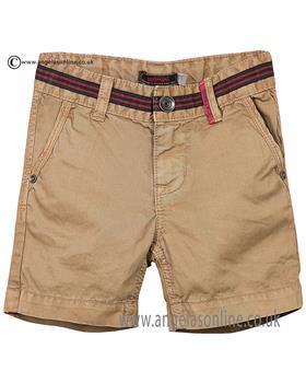 Catimini boys shorts CJ25062 beige