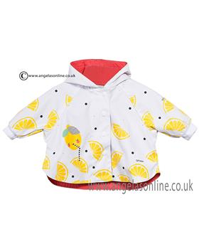 Catimini baby girls shower proof jacket CJ42001 White