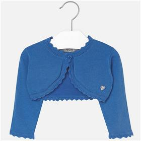 Mayoral baby girls cardigan 306-17 Blue