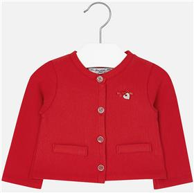 Mayoral baby girls cardigan 153-17 Red