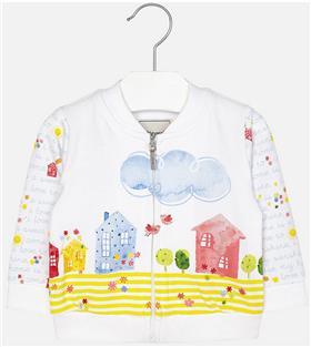 Mayoral baby girls jacket 1463-17 Yellow