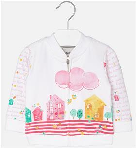 Mayoral baby girls jacket 1463-17 Pink