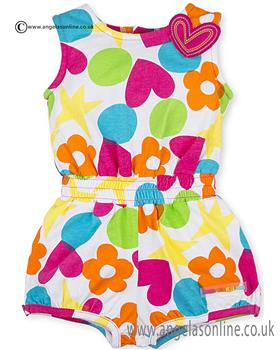 Agatha Ruiz baby girls playsuit 3001-17