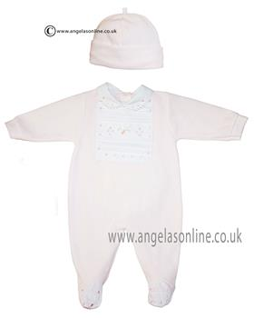 Co Co baby girls babygrow & hat CCS5502 Pink