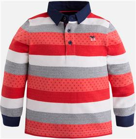 Mayoral boys polo 4101-17 red
