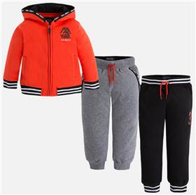 Mayoral baby boys top & jogger set 4039-43-17 Orange