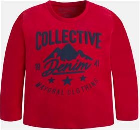 Mayoral boys T-shirt 173-17 Red