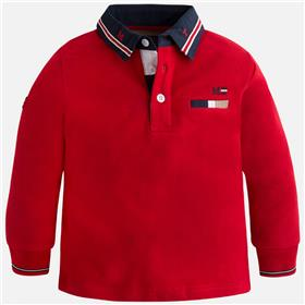 Mayoral baby boys polo top 4105-17 Red