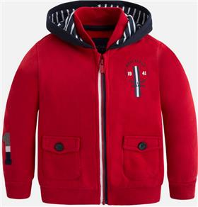 Mayoral boys hoody 4499-17 Red