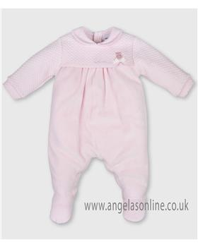 Tutto Piccolo baby girls babygro 3182-17 Pink