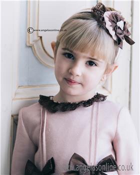 Dolce Petit girls headband 22-2248-D-17 Brown