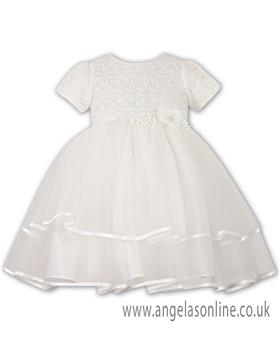 Sarah Louise Christening Dress  070015-10171 IVORY