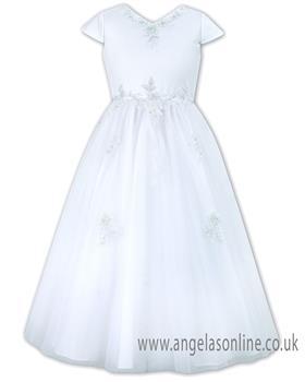 Sarah Louise Girls Holy Communion Dress 090012