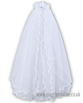 Sarah Louise holy communion veil 055006P