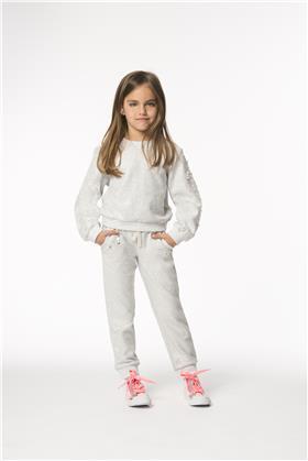 Billieblush girls sweat top & jogger U15507-14248-18 Silver