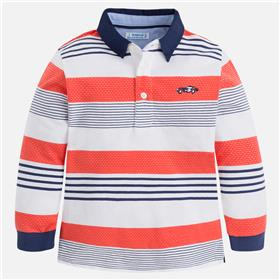 Mayoral boys long sleeve polo 3178-18 Red