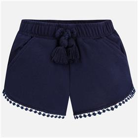 Mayoral girls shorts 607-18 Navy