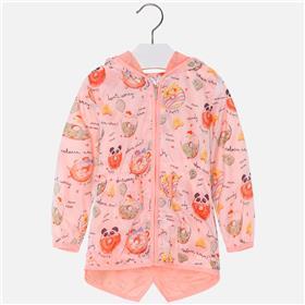 Mayoral girls jacket 3430-18 Neon