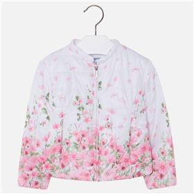 Mayoral girls summer jacket 3426-18 Pink