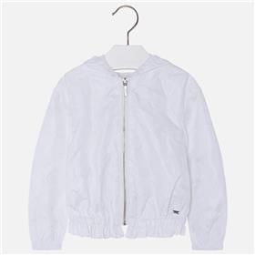 Mayoral girls summer jacket 3428-18 White