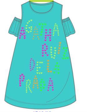 Agatha Ruiz girls dress 7VE3029-18