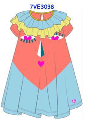Agatha Ruiz girls dress 7VE3038-18