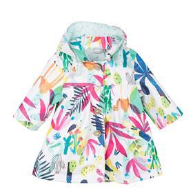 Catimini girls summer parka coat CL42013