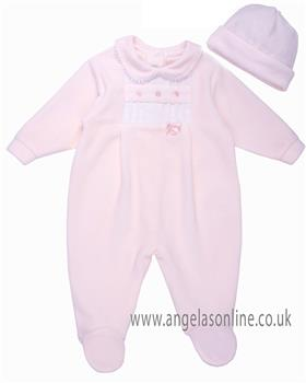 Coco babygrow & hat CCS5553 Pink