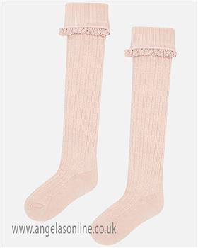 Mayoral girls socks 10499-18 nude