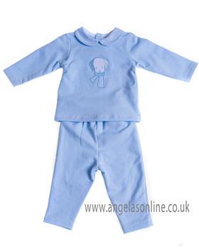 Sardon baby boys jogsuit CO-433 Blue
