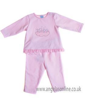 Sardon baby girls jogsuit CO-454 Pink