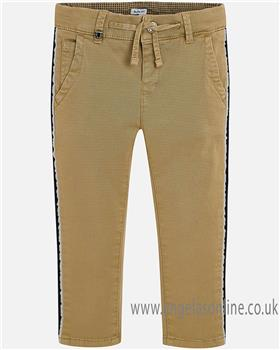 Mayoral boys trousers 4502-18 camel