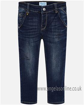 Mayoral boys jeans 4522-18 blue