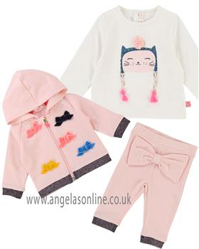 Billieblush girls 3 piece tracksuit U05272-8063-18