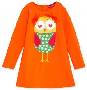 Agath Ruiz girls orange dress VE3108-18 orange
