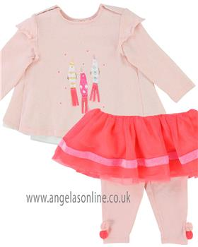 Billieblush girls top & skirt/leggings U05273-3060-18