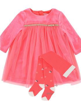 Billieblush girls dress U02218-18 pink