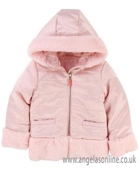 Billieblush girls coat U16185-18 Pink