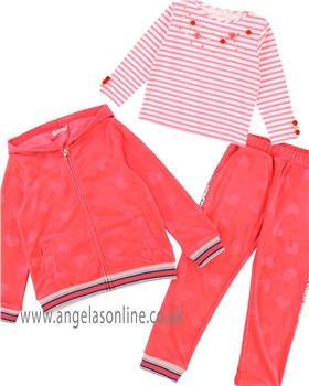 Billieblush girls 3 piece jog suit U15535-18085-18