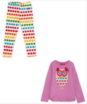 Agatha Ruiz Girls Top & Legging SS2692-2708-18 PK