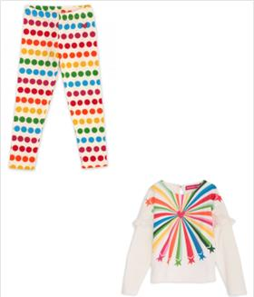 Agatha Ruiz Girls Top & Legging SS2680-2708-18 AS