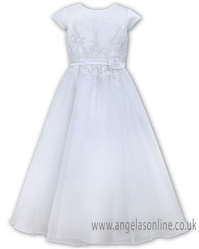Sarah Louise girls communion dress 090046