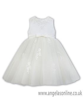 Sarah Louise girls ballerina dress 070073-19 Ivory