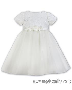 Sarah Louise girls ballerina dress 070081-19 Ivory