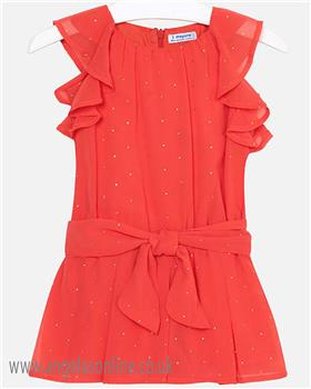 Mayoral girls short all 3804-19 Coral
