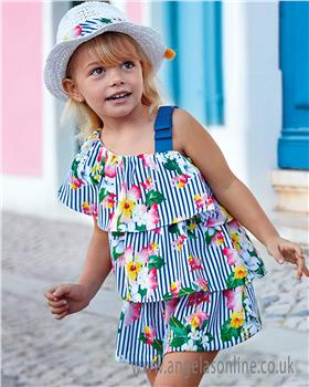 Mayoral girls floral cullottes 3805-19 A/S
